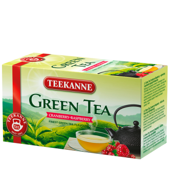 Green Tea Cranberry Raspberry